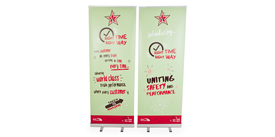 Pull up Banners Printed by York Digital Image